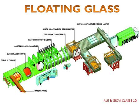 FLOATING GLASS ALE & GIOVI CLASSE 1D.