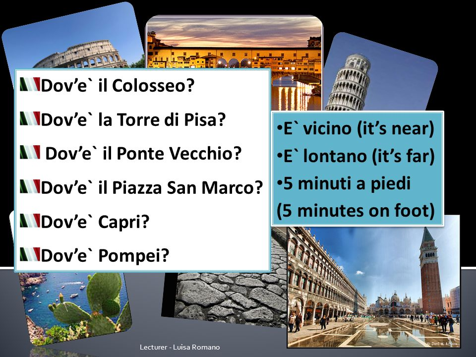Lecturer - Luisa Romano Book a lesson with Talk Italian