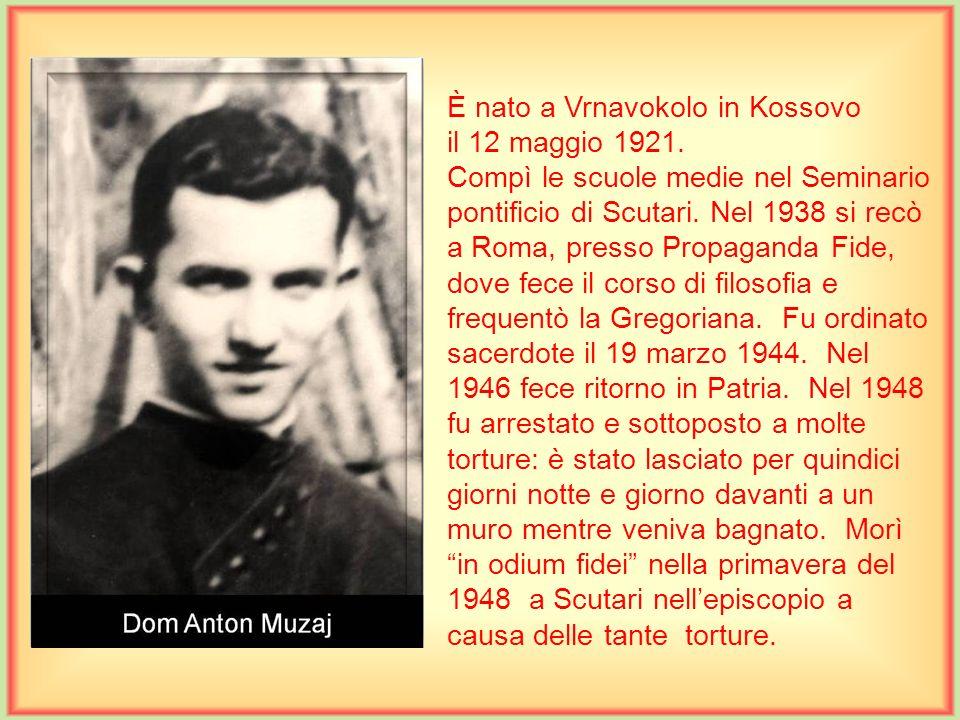 È nato a Vrnavokolo in Kossovo il 12 maggio 1921.