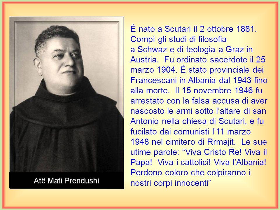 È nato a Scutari il 2 ottobre 1881.