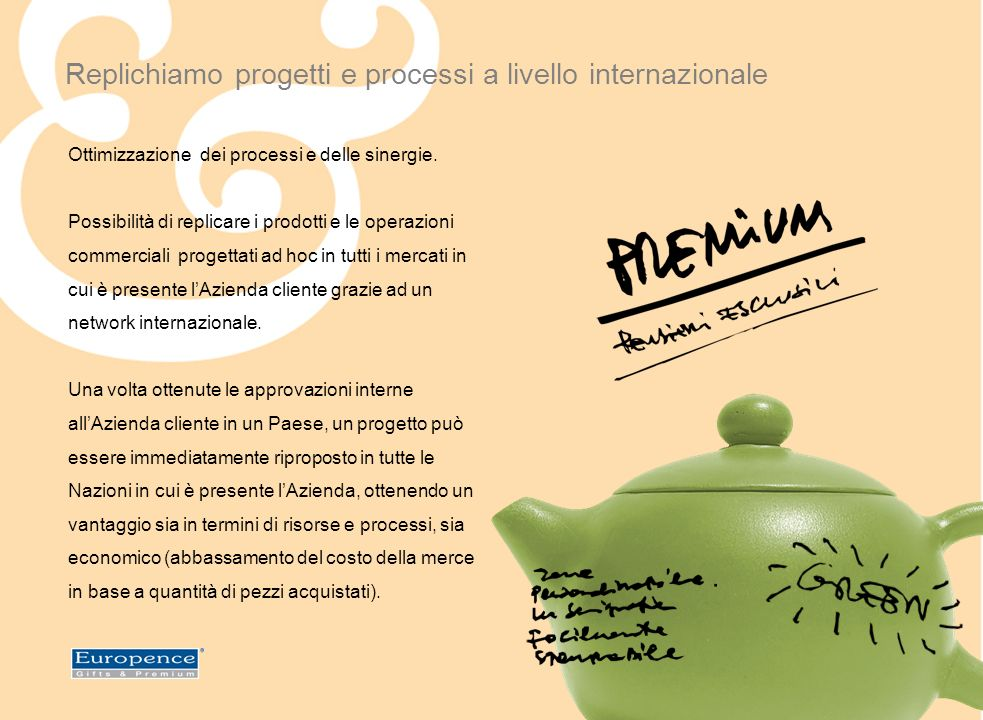ITALY Via Aosta, 1 - 24040 Ciserano (BG) +39 035 0952211 info.it@europence.com CONTATTI SEDE Partners Europei