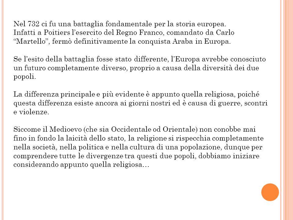 Religioni Per prima cosa, bisogna precisare che non ci sono solo differenze tra lIslam e il Cristianesimo.