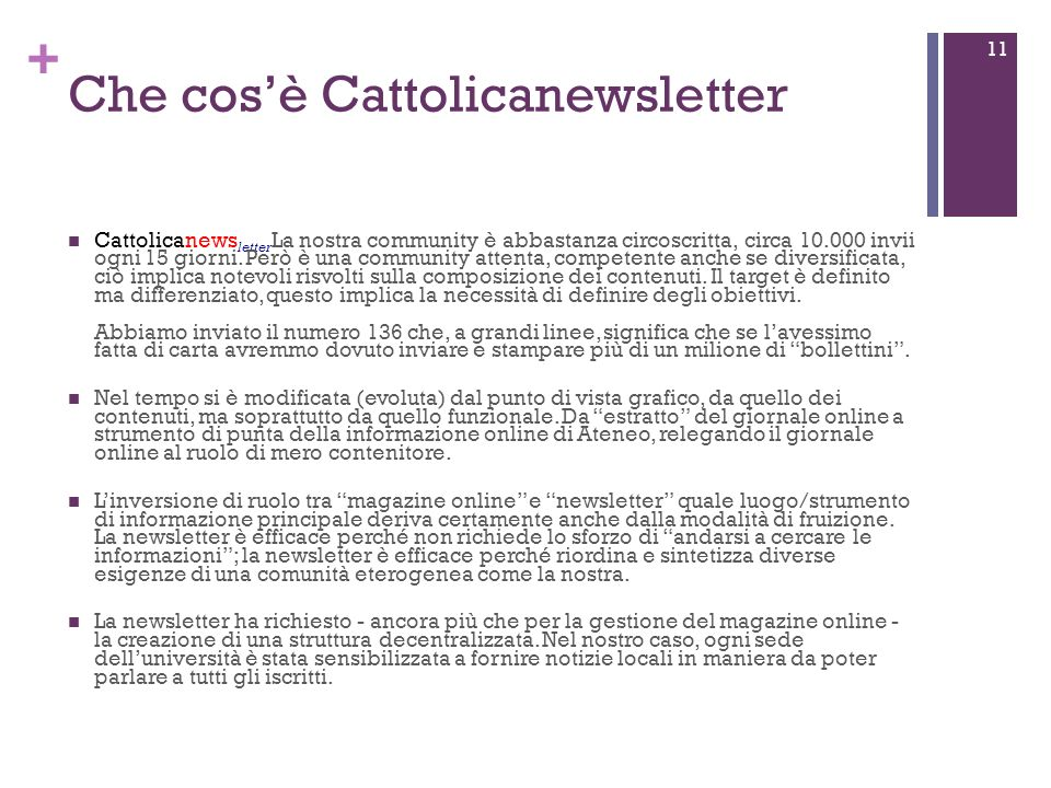 + Cattolicanewsletter 12 sullI-Phone nella mail