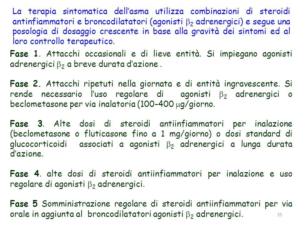 36 ASMA INDOTTA DA ESERCIZIO Lasma indotta da esercizio (EIA, exercise-induced asthma) è una sindrome broncocostrittiva acuta scatenata dallesercizio aerobico intenso.