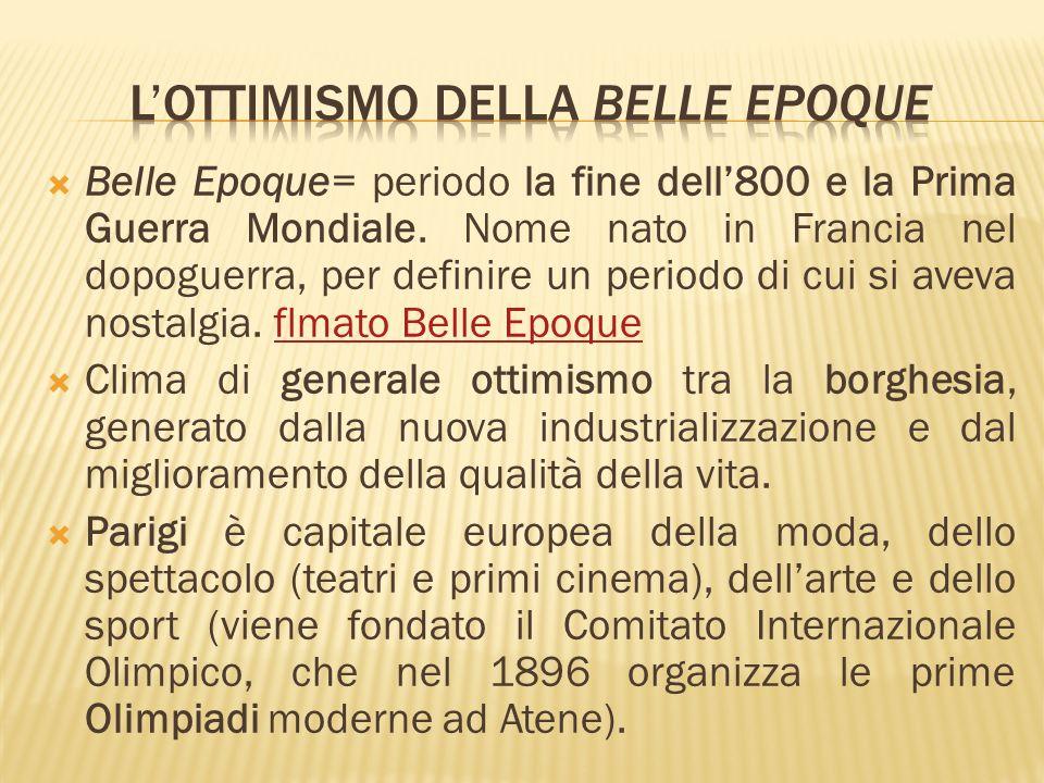 Durante la BellEpoque i poster pubblicizzavano non solo i nuovi prodotti, ma anche gli spettacoli.