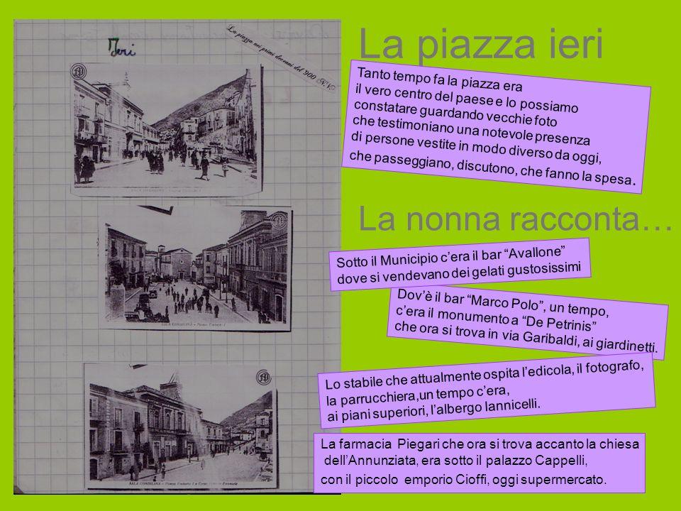 La fontana dei tre canali ieri Confrontando le due foto notiamo che La fontana dei tre canali oggi si trova in piazza Umberto 1°.