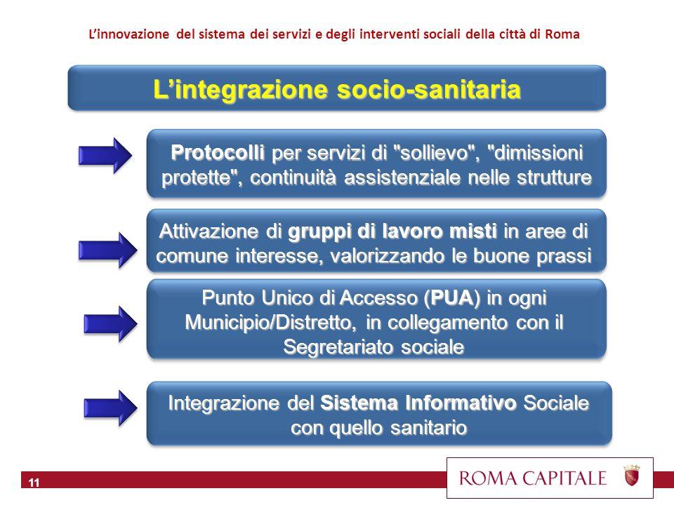 12 L integrazione del sociale con il mondo del lavoro, chiara a livello nazionale, risulta meno evidente localmente, anche perché la Città non possiede molti strumenti per agire efficacemente in questo settore.