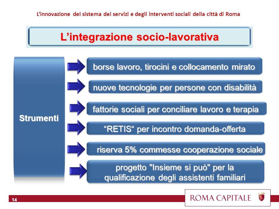 15 Il tema della stabilità e della qualità del lavoro riguarda anche gli operatori sociali.