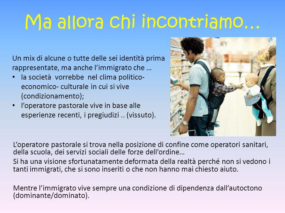 Promuovere carità vivendo (lavorando) con gli immigrati.