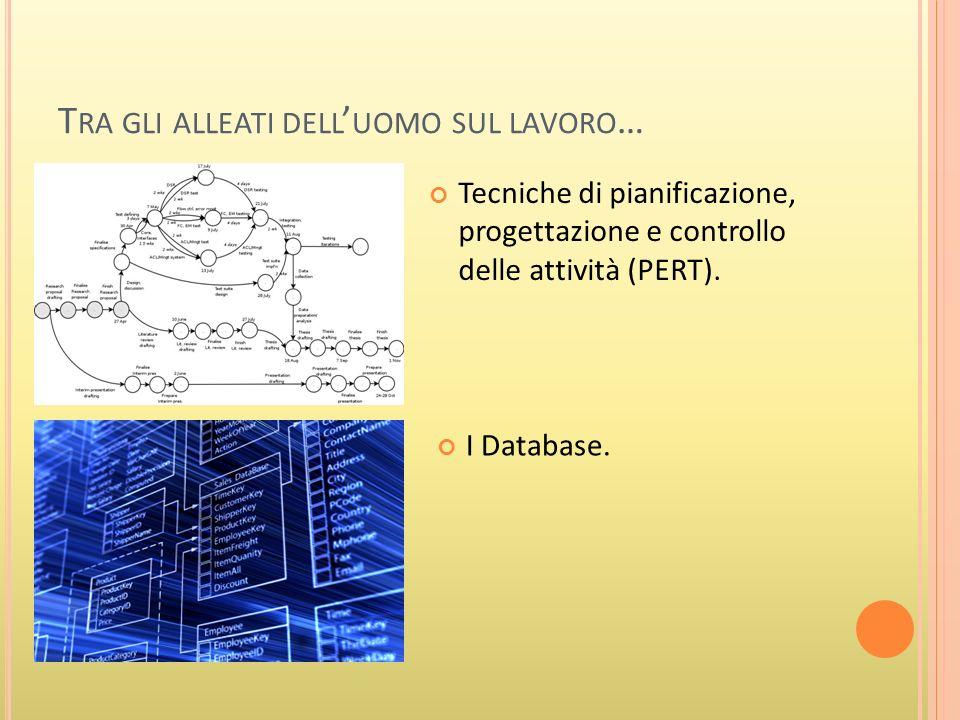 I D ATABASE … UN ESEMPIO Si vuole realizzare un database, realizzando le opportune tabelle e relazioni, per la gestione degli ordini ricevuti da unazienda.