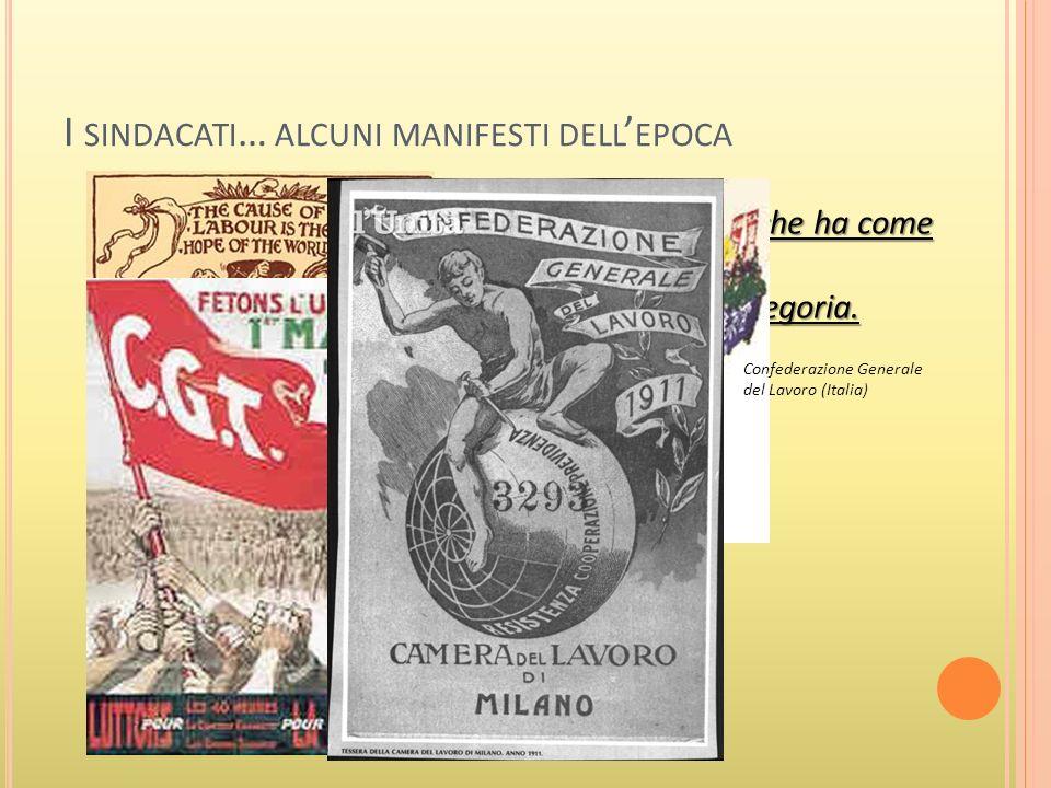 L A DIFFUSIONE DEL SOCIALISMO Il Quarto Stato, Pellizza da Volpedo