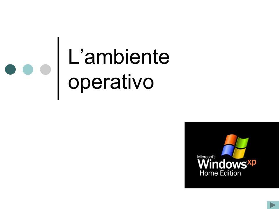 2 Per avviare e poter utilizzare il computer è necessario un particolare programma che si chiama sistema operativo.