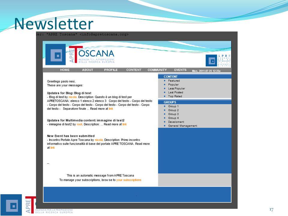 Formati dei Contenuti Documenti: Pagine web, doc, pdf, xls, epub, eventi, ppt, forum, group, slide,..