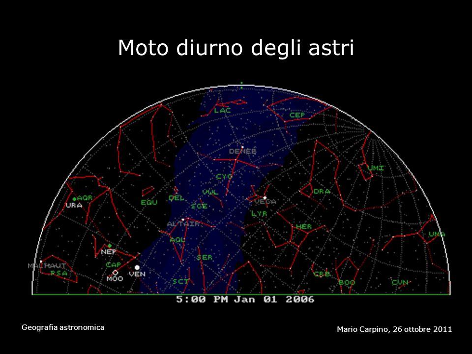 2 Scale di distanza Mario Carpino, 26 ottobre 2011 Geografia astronomica
