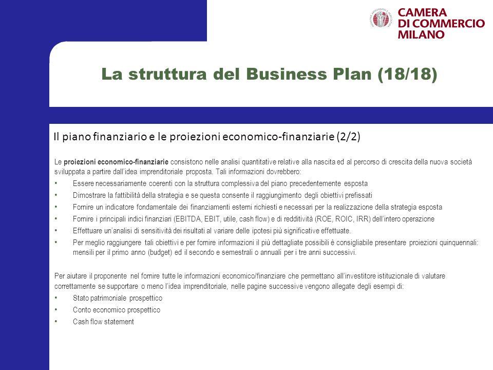 La rilevanza del tema attuale nel contesto economico nazionale Alternative giudiziali al fallimento Il business plan Raccomandazioni e best practices