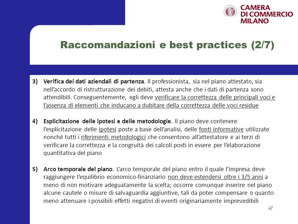 6)Risanamento aziendale e corretta gestione societaria.