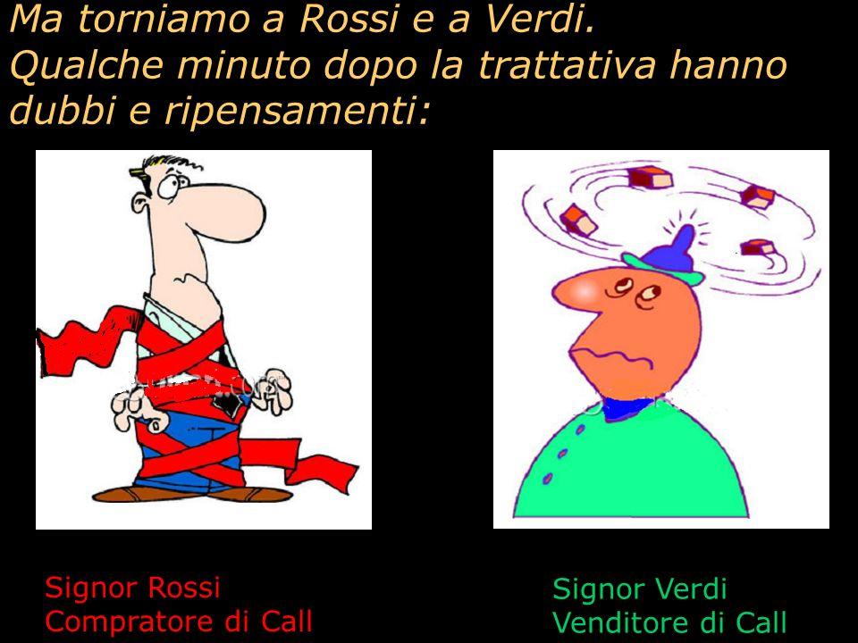 Ma torniamo a Rossi e a Verdi.