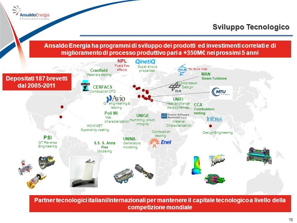 Ansaldo Energia nel mondo Company headquarters Branch Offices 17