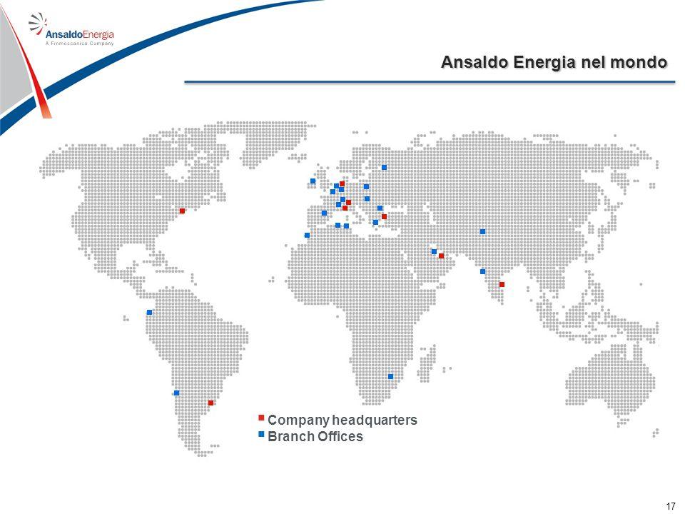 Organizzazione e cultura È possibile replicare il modello di Ansaldo Energia .