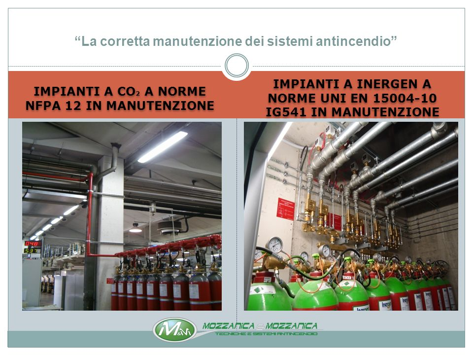 STAZIONI DI POMPAGGIO IN MANUTENZIONE NON CONFORMI MA DICHIARATE A NORME UNI 9490 DALLINSTALLATORE La corretta manutenzione dei sistemi antincendio