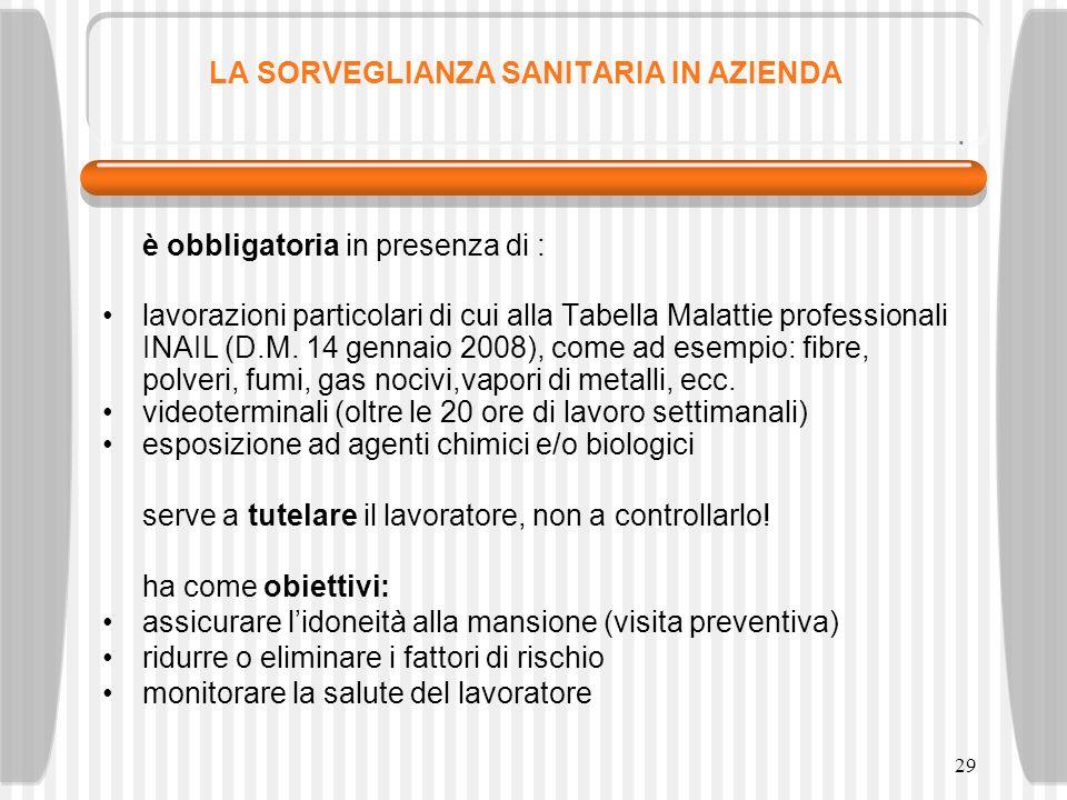 30 IL SERVIZIO DI PREVENZIONE E PROTEZIONE – (SPP) 1.