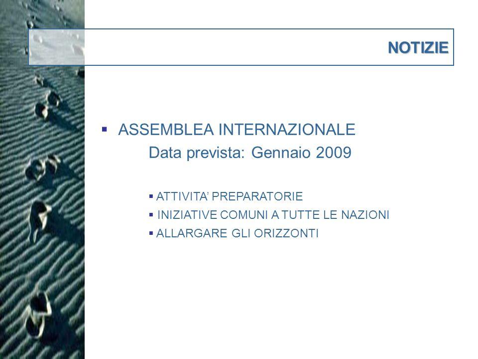 Delegati alla Assemblea Internazionale 1.STORACE Gaetano17 2.