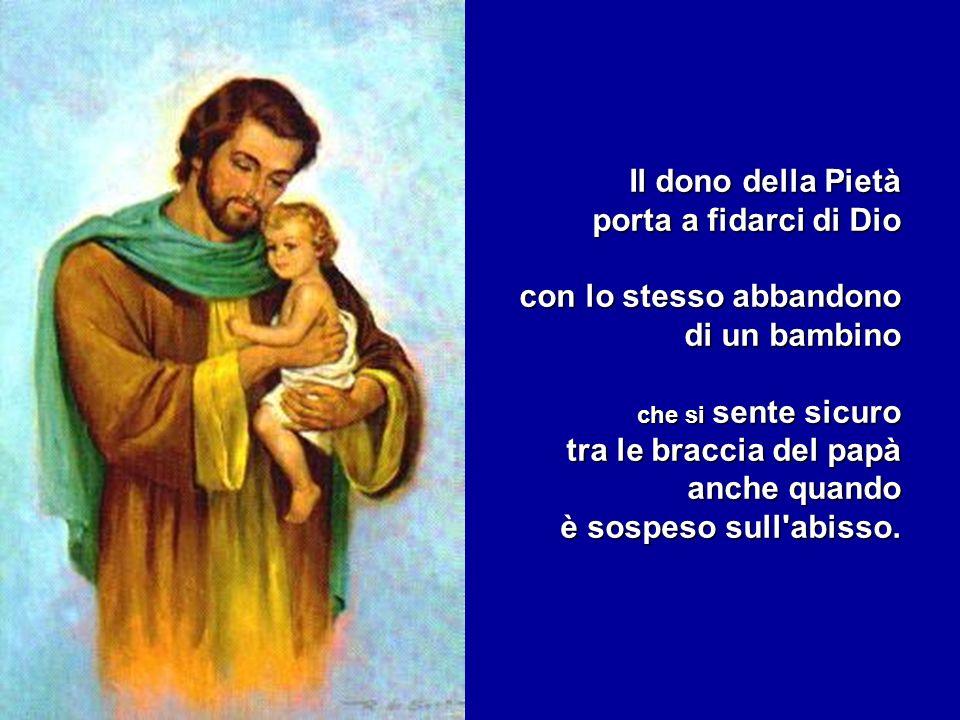 padre che è come il mare: regge chi gli si abbandona, padre che è l ultimo a lasciarsi impressionare dalle mie sbandate, padre che asciugherà ogni lacrima.