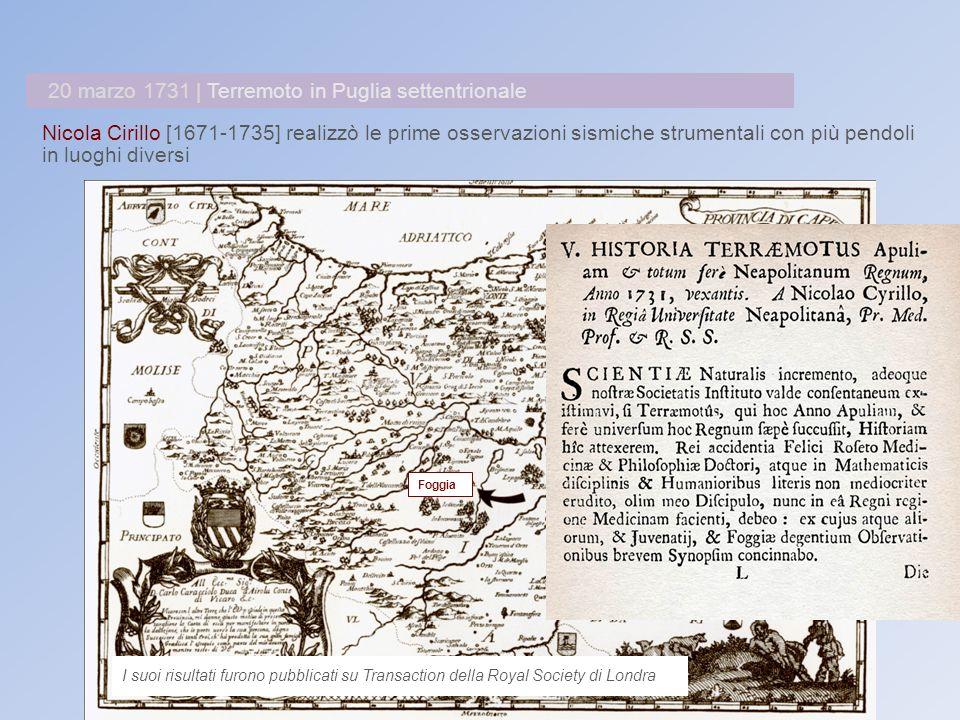 1859 Francesco Denza (1834-1894), protagonista dello sviluppo della meteorologia moderna in Italia, promosse la nascita di una rete di osservazione meteorologica delle Alpi e degli Appennini.