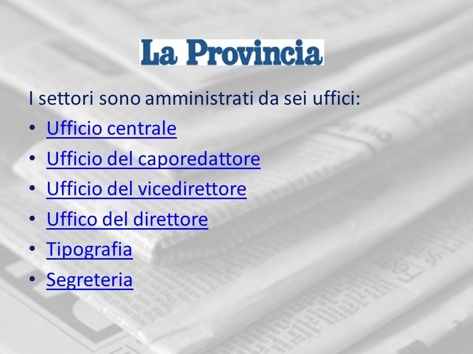 Si occupa della cronaca cittadina, ovvero dei fatti che accadono a Como ed è il settore con il maggior numero di collaboratori, pari a otto.