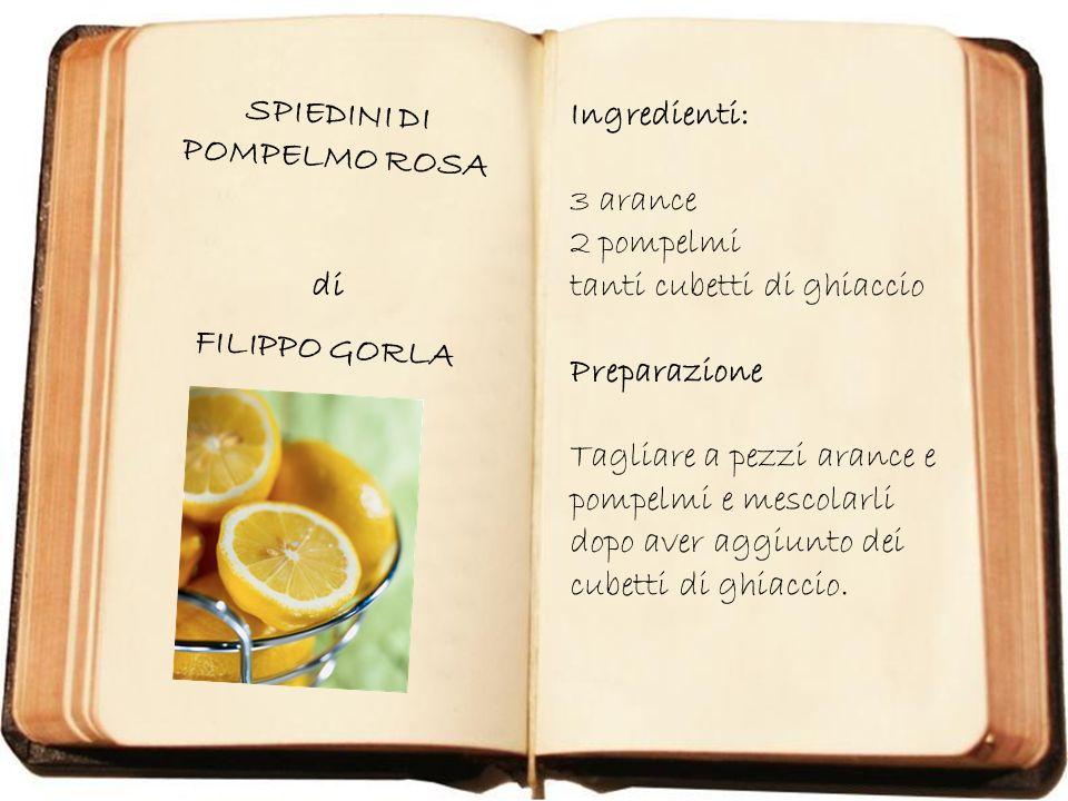 DOLCE FRUTTA di GIORGIA ZUCCOLI Ingredienti: Una pera, uno yogurt alla frutta, un po di noci e frutta varia.