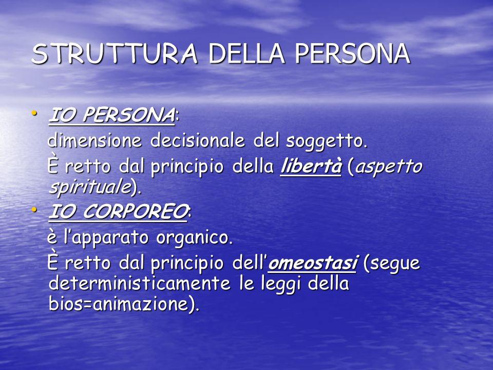 IO PSICHICO: IO PSICHICO: è il sistema percettivo-sensitivo-razionale.