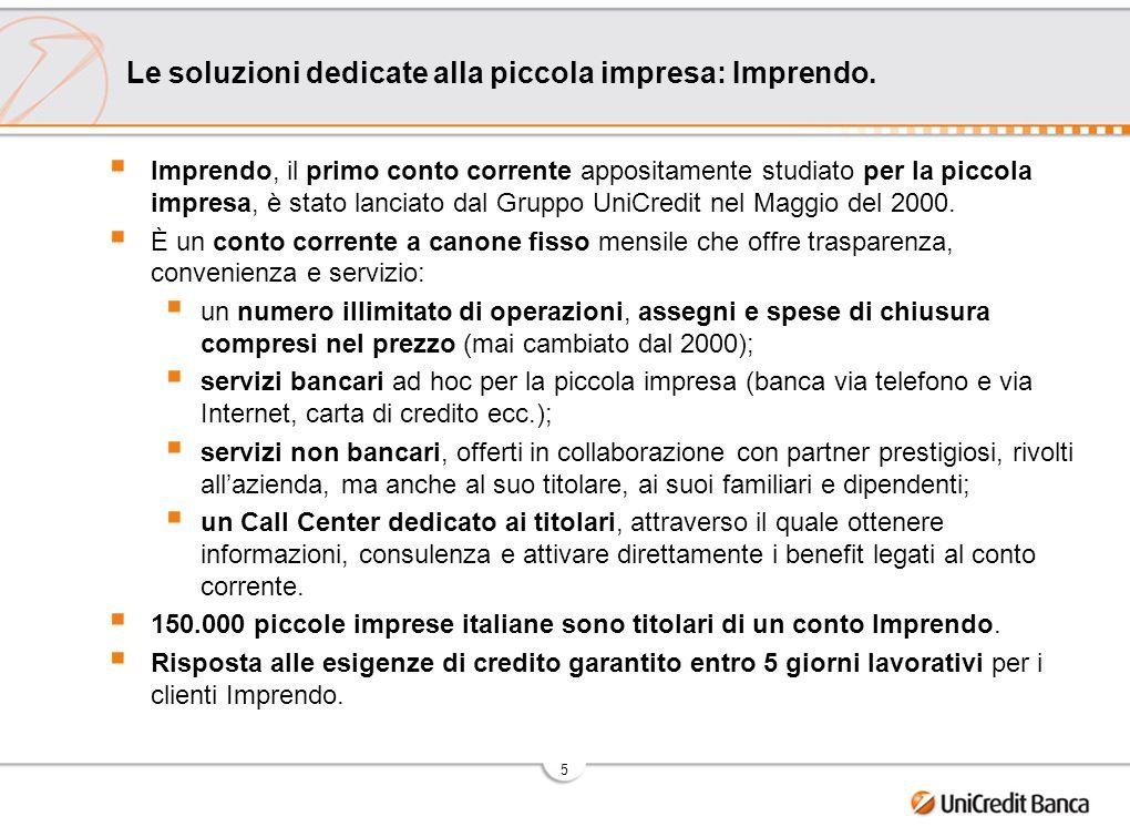 6 Le soluzioni dedicate alla piccola impresa: LineAgricoltura - è il sistema integrato di soluzioni per lo sviluppo dellimpresa agricola.