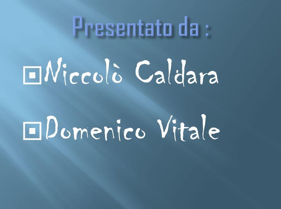 Niccolò Caldara Domenico Vitale