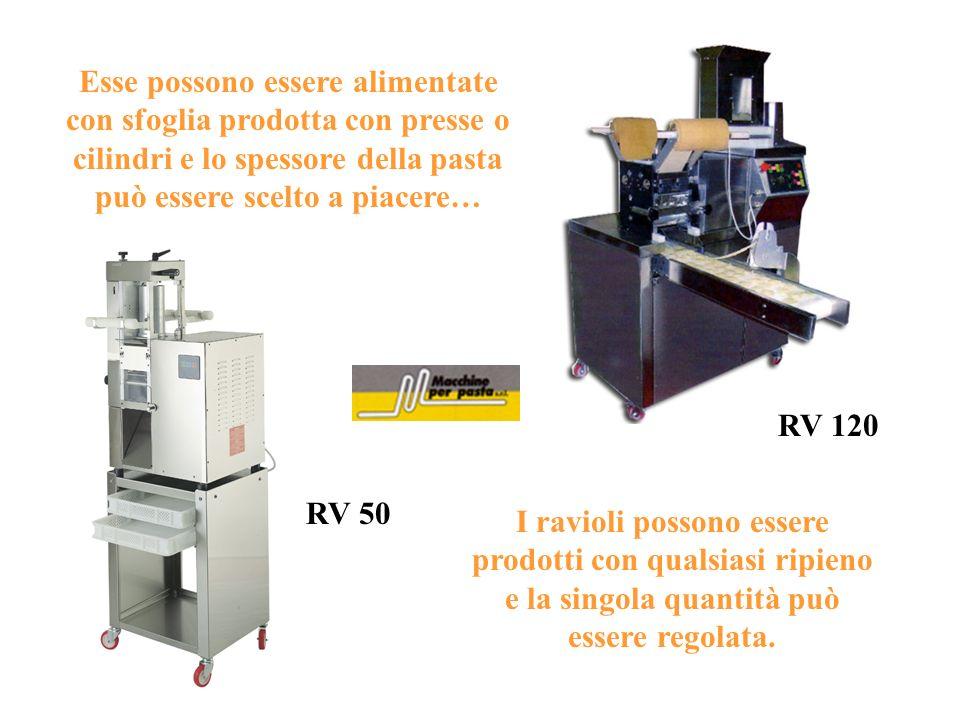 Le Gnoccatrici sono Macchine particolarmente adatte a Pastifici, Panifici, Gastronomie, Supermercati e Grandi Comunità Le GNOCCATRICI GR 60 GN 90