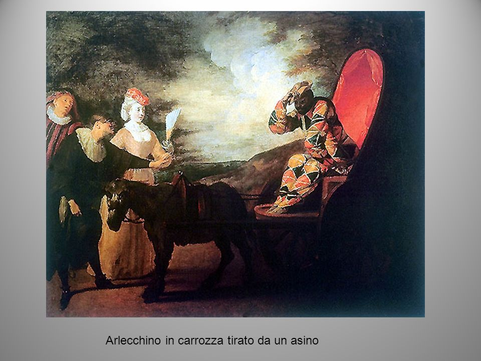 Le dive: la danzatrice Barbarina Campanini quadro di A. Pesne