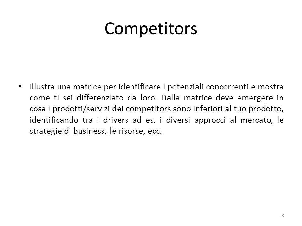 Barriere allentrata Che cosa hai fatto per rendere difficile lentrata nel mercato da parte dei tuoi competitors.