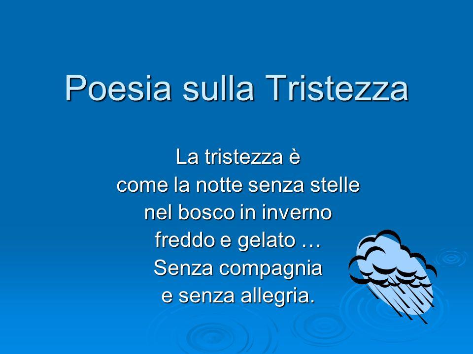 Poesia sulla Nostalgia La nostalgia è come lautunno: senza frutti ne fior. Senza armonia.