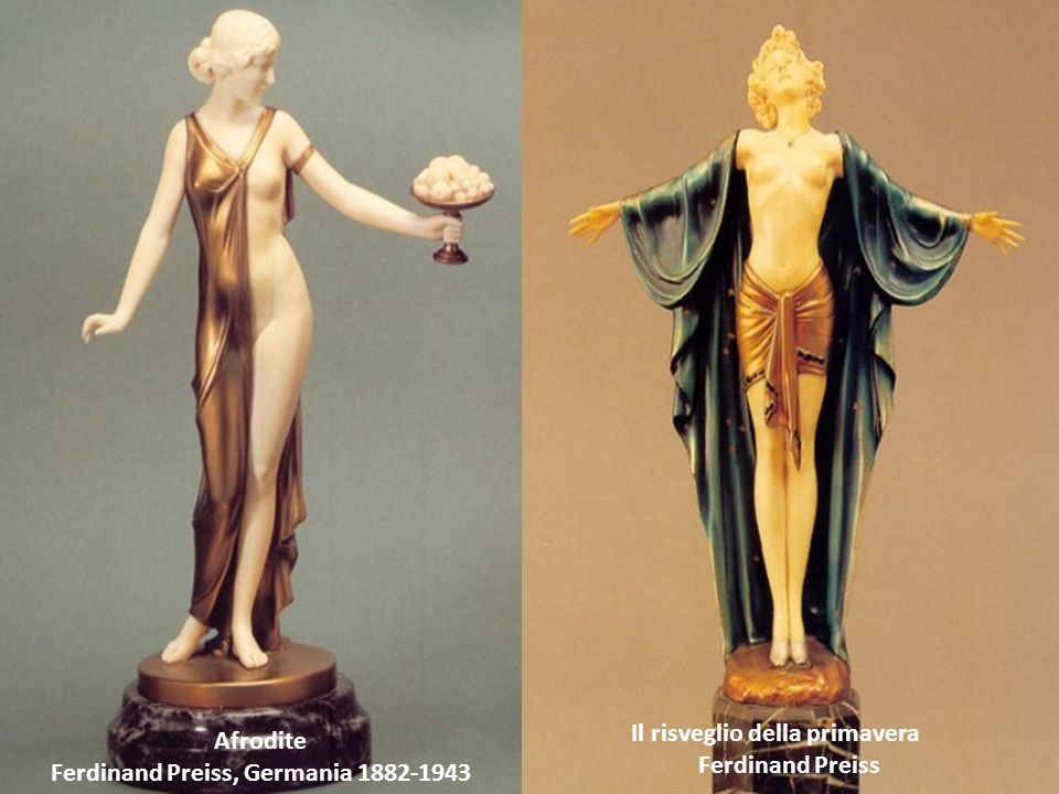 Afrodite Ferdinand Preiss, Germania 1882-1943 Il risveglio della primavera Ferdinand Preiss