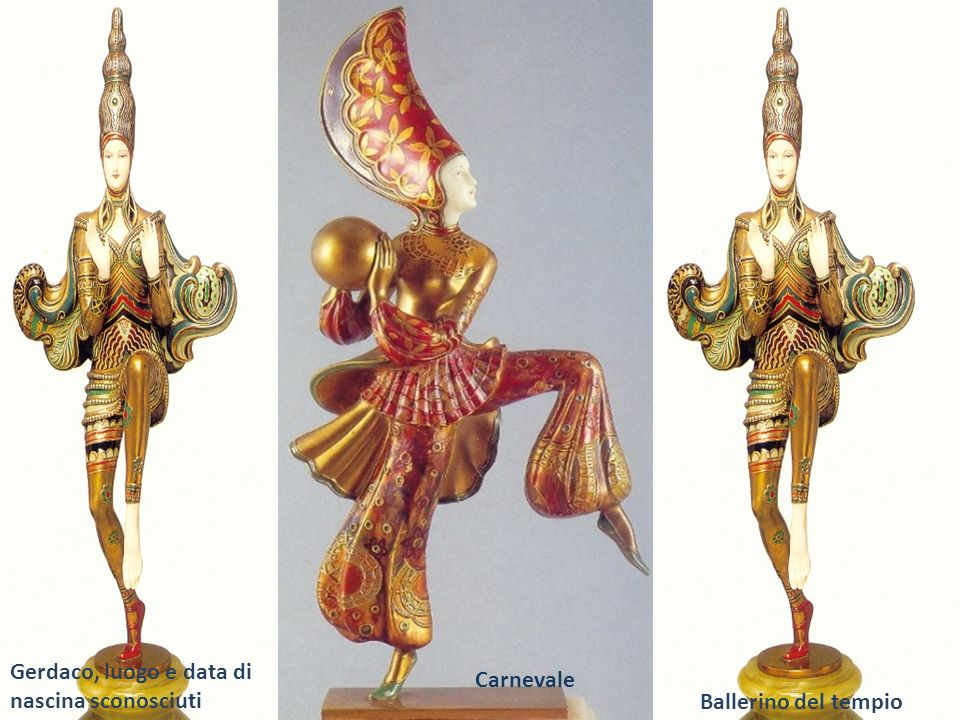 Carnevale Ballerino del tempio Gerdaco, luogo e data di nascina sconosciuti