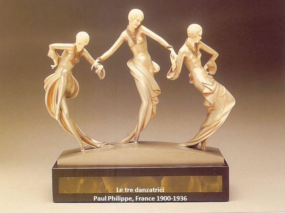 Le tre danzatrici Paul Philippe, France 1900-1936