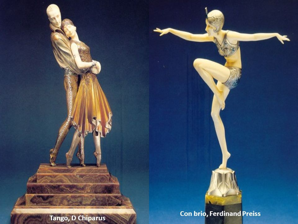 Con brio, Ferdinand Preiss Tango, D Chiparus