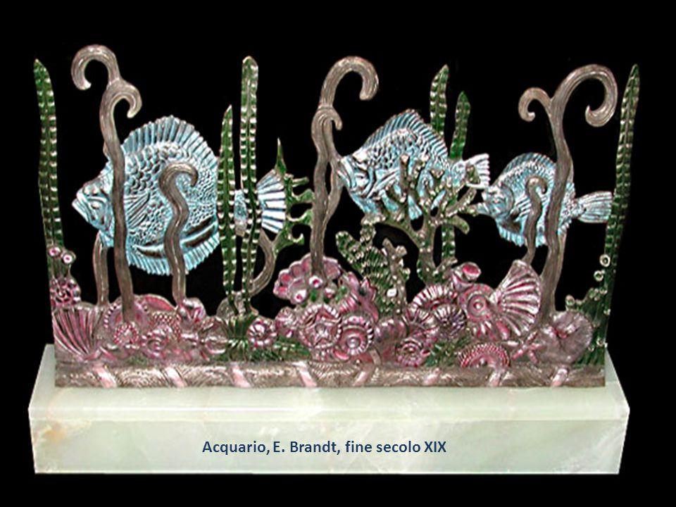 Acquario, E. Brandt, fine secolo XIX