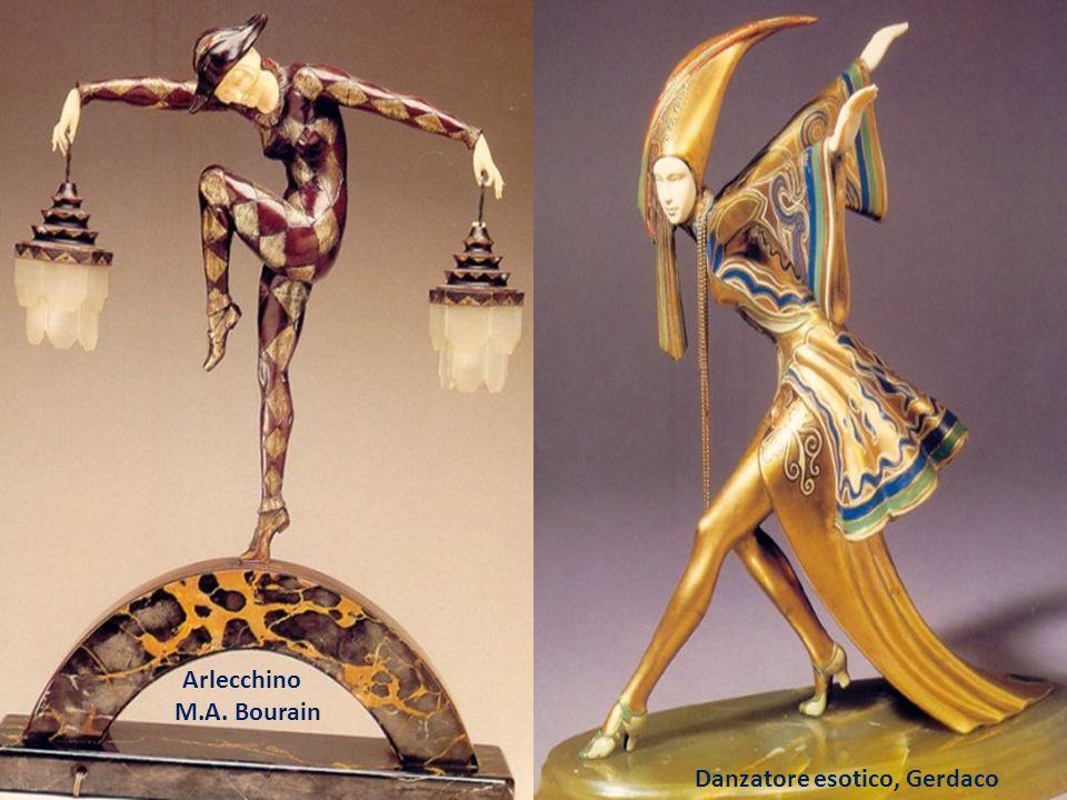 Arlecchino M.A. Bourain Danzatore esotico, Gerdaco