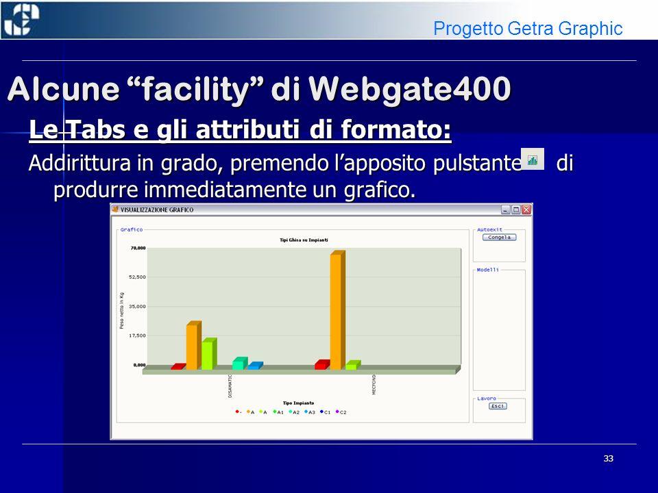 34 Alcune facility di Webgate400 Immagini e Button Image: Facilmente vengono messe nei form Immagini, Text Icons e Extended Icons (per I Button Image).