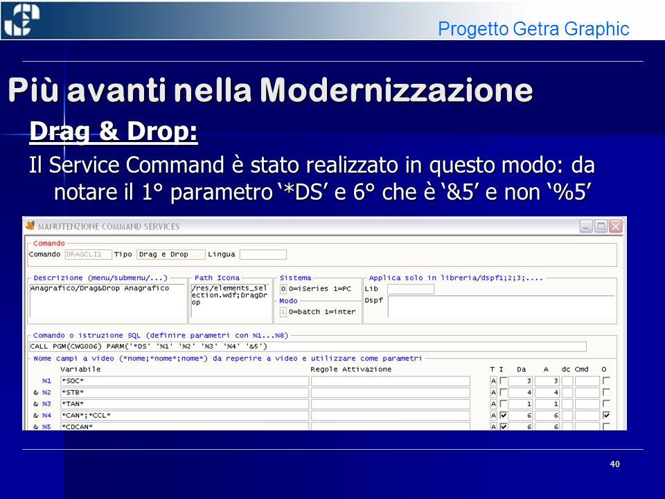 41 Più avanti nella Modernizzazione LOBS: Gestione di oggetti complessi all interno di applicazioni 5250 convertite Webgate400.