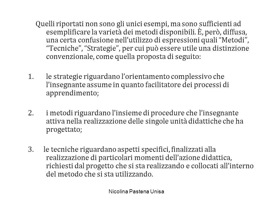 Nicolina Pastena Unisa Le strategie sono essenzialmente due (Fiorin,97; Alessandrini, 98) che indichiamo con le espressioni: strategia espositiva strategia euristica.