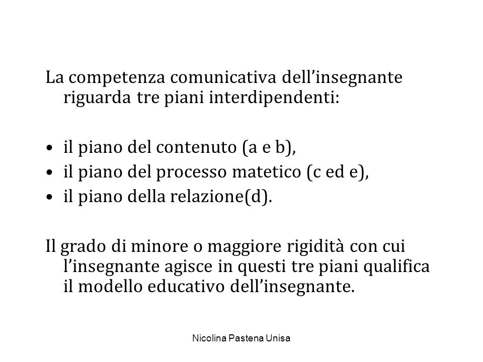 Nicolina Pastena Unisa LIdea di mediazione.