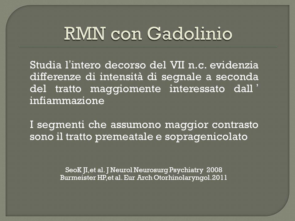 Kinoshita T et al. Clin. Radiology 2001; 56: 926-32 Pre-GADPost-GAD
