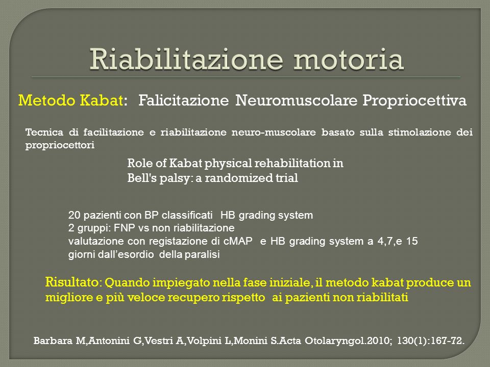 Epidemiology of Bells palsy in an Italian Health District:incidence and case control S.Monini,A.I.Lazzarino,C.Iacolucci,A.Buffoni,M.Barbara.Acta Othorinolaryngology Ital.2010;30:198-204 Aim: Estimate the incidence of BP Study the potential risk factors that may influence BP occurrence ASL ROMA E