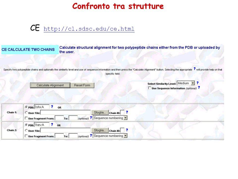 CE: Sovrapposizione strutturale Rosso: 1KEV: Alcool deidrogenasi di Clostridium beijerinckii Blu: 2OHX: Alcool deidrogenasi E di Cavallo